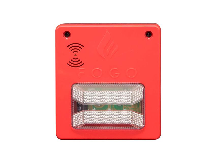 SINALIZADOR AUDIOVISUAL c sirene - 12-24V Convencional - Segurimax