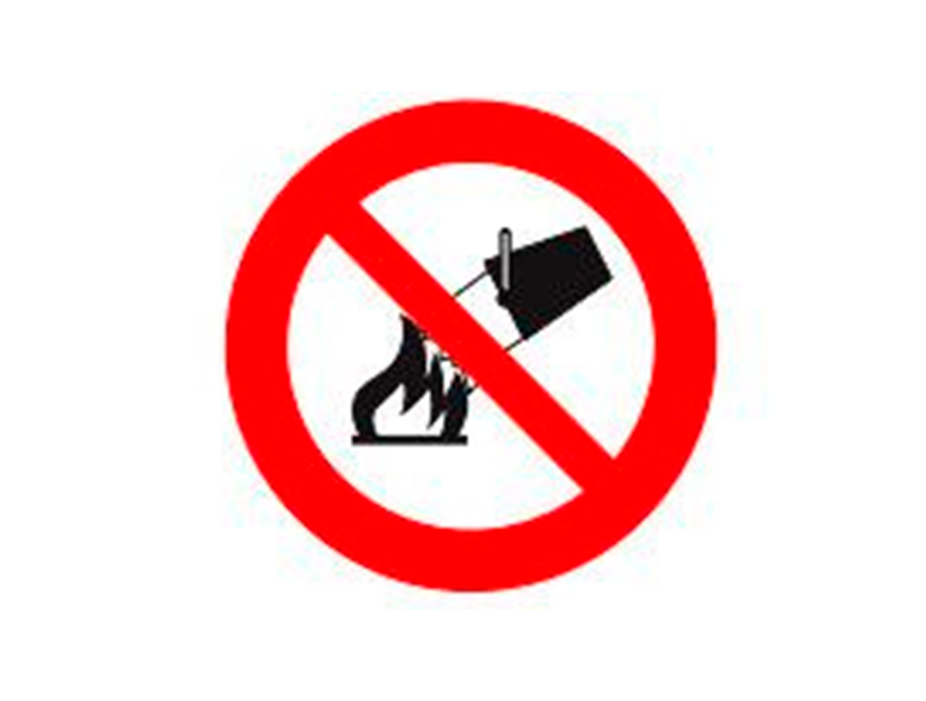 Placa-P3---300x300-mm-Proibido-Utilizar-Água